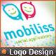 Bliss Mobile App Development Social Phone Logo V.2 - GraphicRiver Item for Sale