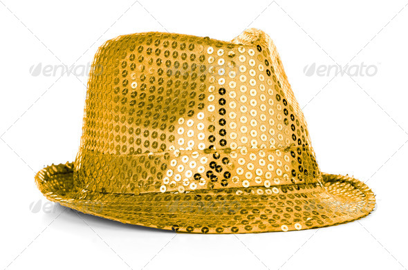 Paillette hat - Stock Photo - Images