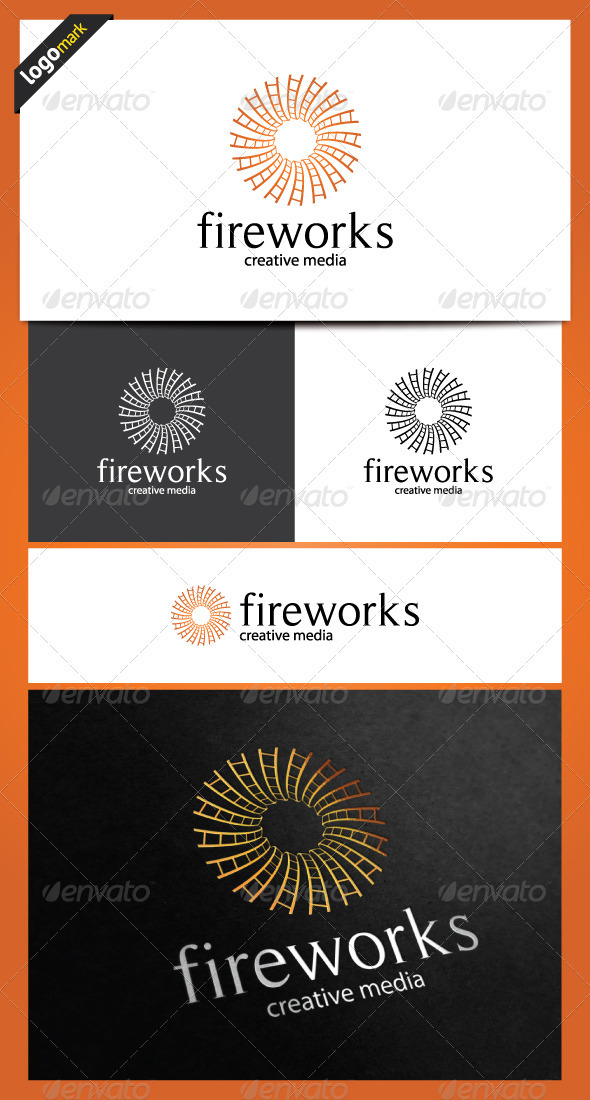 Fireworks Logo Template - Objects Logo Templates