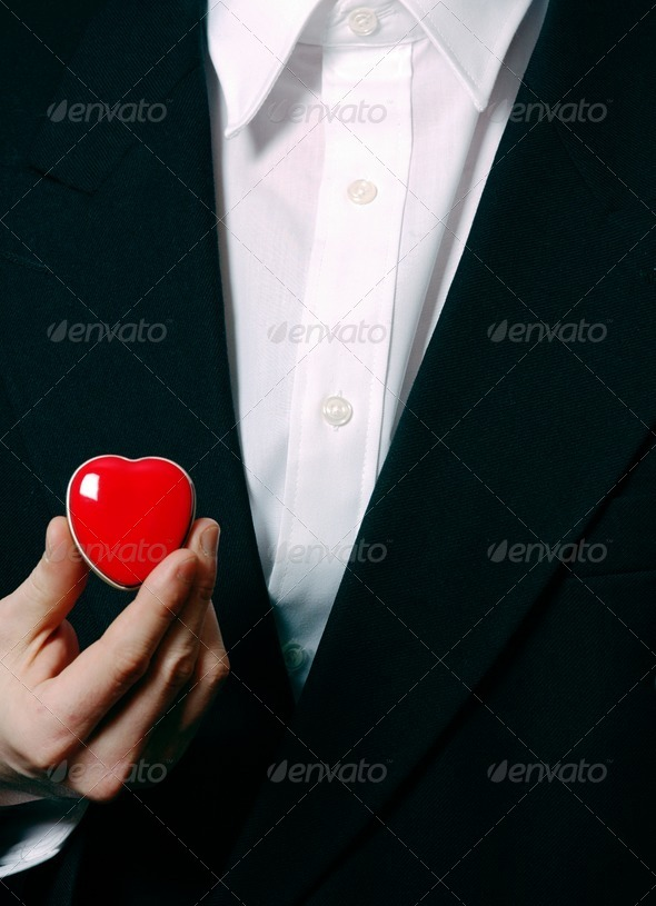 Business heart - Stock Photo - Images