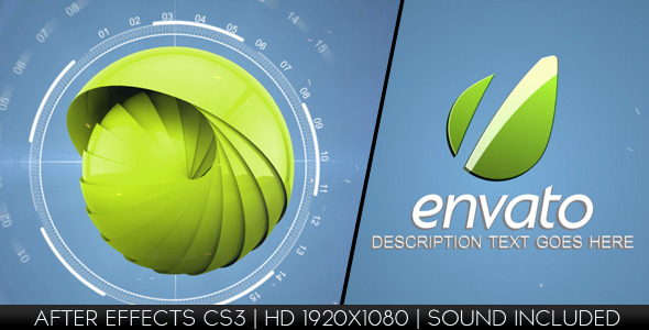 After Effects Project - VideoHive Hi-Tech Logo Reveal 2789964