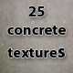 25 high resolution concrete textures - GraphicRiver Item for Sale