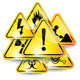 Set of warning signs - GraphicRiver Item for Sale
