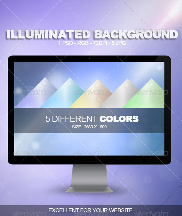 Iluminated Backgound - Abstract Backgrounds