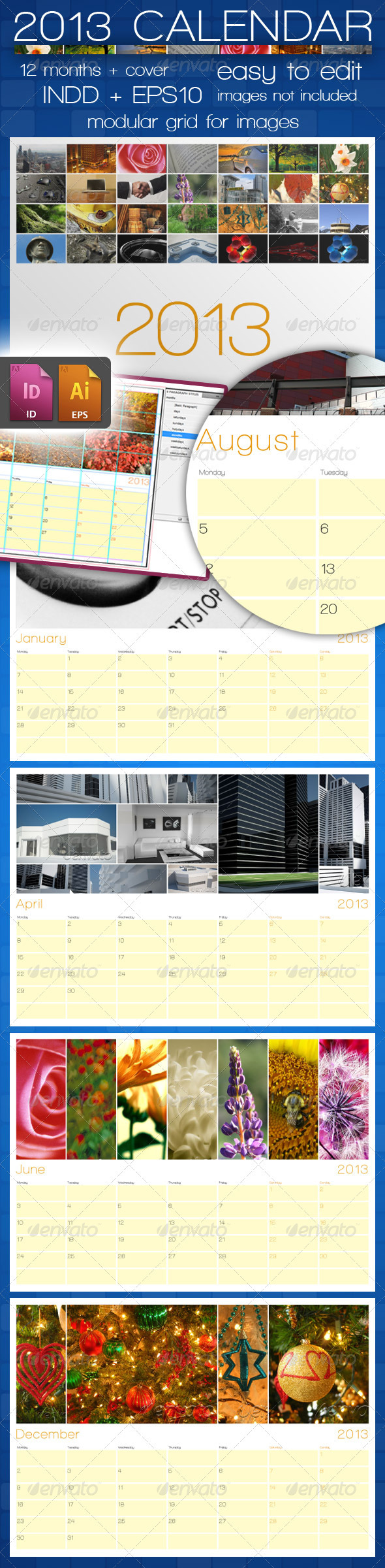 GraphicRiver 2013 Calendar 2791462