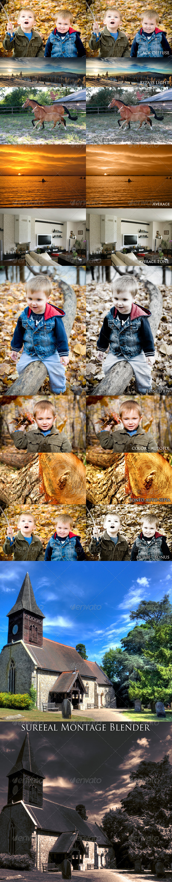 Pictures Pro - Photo Effects Actions