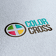 Color Cross Logo - GraphicRiver Item for Sale