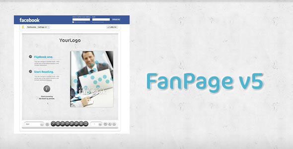 FaceBook FanPage v5 - FlipBook  - ActiveDen Item for Sale