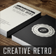 Creative Retro Business Card - GraphicRiver Item for Sale