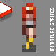 Miniature Pixel People Sprites - GraphicRiver Item for Sale