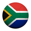 South Africa Flag Pattern 3d rendering of a soccer ball - PhotoDune Item for Sale