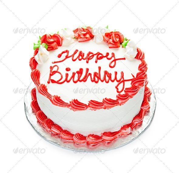 PhotoDune Birthday Cake 204286