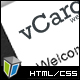 vCard2 - Clean and Professional vCard Template - ThemeForest Item for Sale
