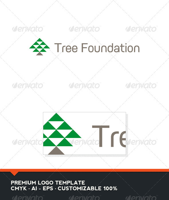 Tree Foundation Logo Template - Abstract Logo Templates