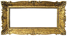 Golden Picture Frames