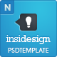 Insidesign - Company, Portfolio, Blog - Template - ThemeForest Item for Sale