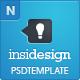 Insidesign – Company, Portfolio, Blog – Template  Free Download