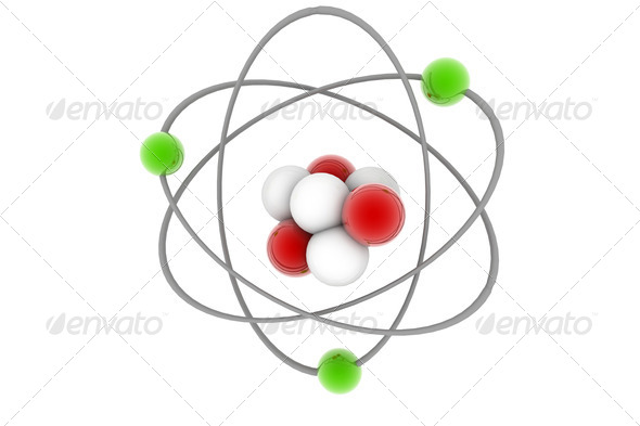 Atom  - Stock Photo - Images