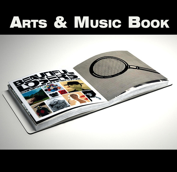 Art & Music Book - 3DOcean Item for Sale