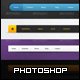 5 Navigation Bars - GraphicRiver Item for Sale