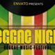 Reggae Night Flyer A4 - GraphicRiver Item for Sale