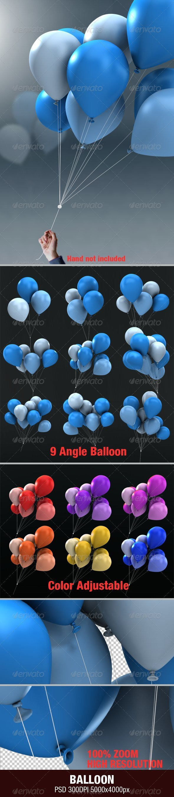 GraphicRiver Balloon 2799049