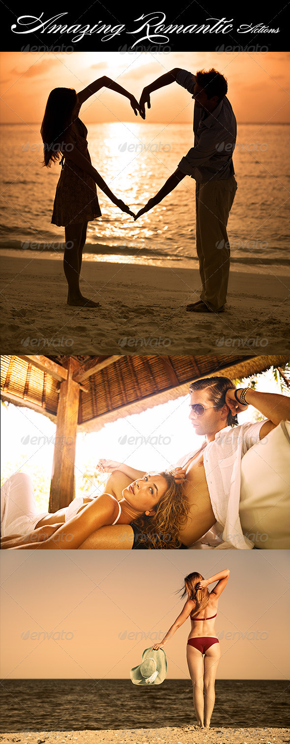 Amazing Romantic Actions - Photo Effects Actions
