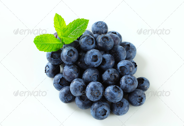 Fresh blueberries - Stock Photo - Images