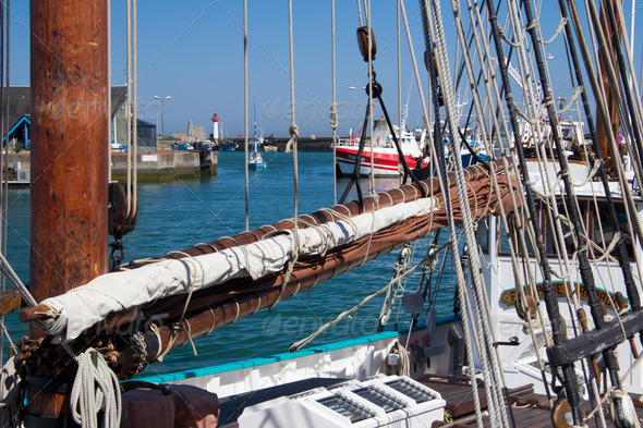 Mast and Rigging - Stock Photo - Images