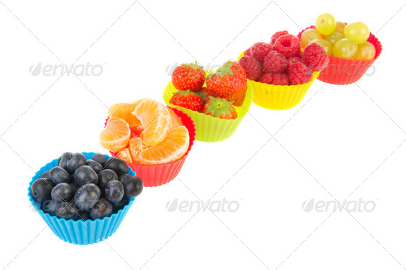 Fresh assortment fruit - Stock Photo - Images