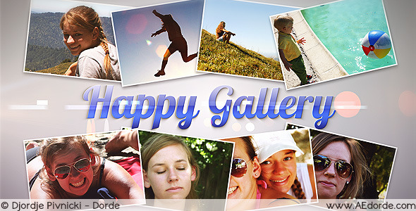 After Effects Project - VideoHive Happy Gallery 2801020