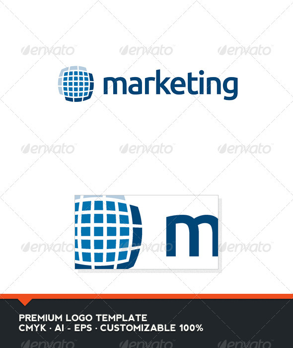 Marketing Logo Template - Abstract Logo Templates