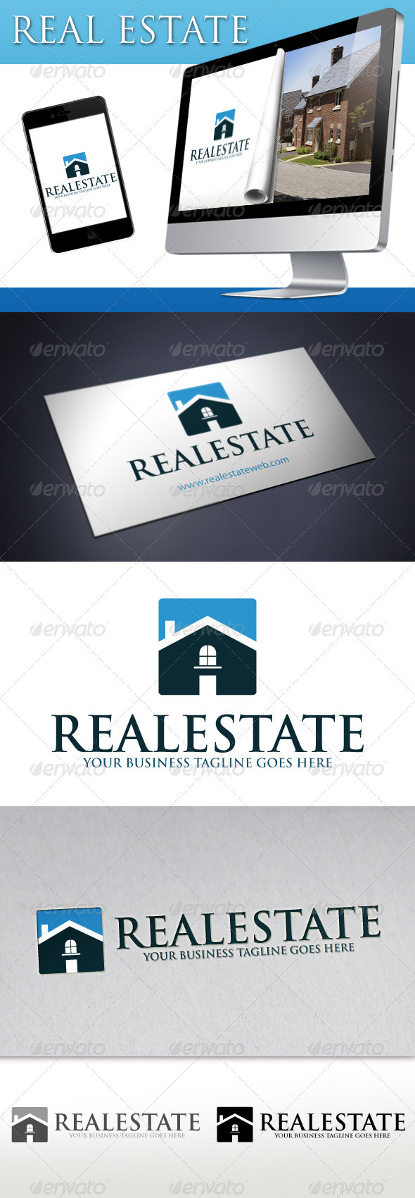 Real Estate Logo 3 - Buildings Logo Templates