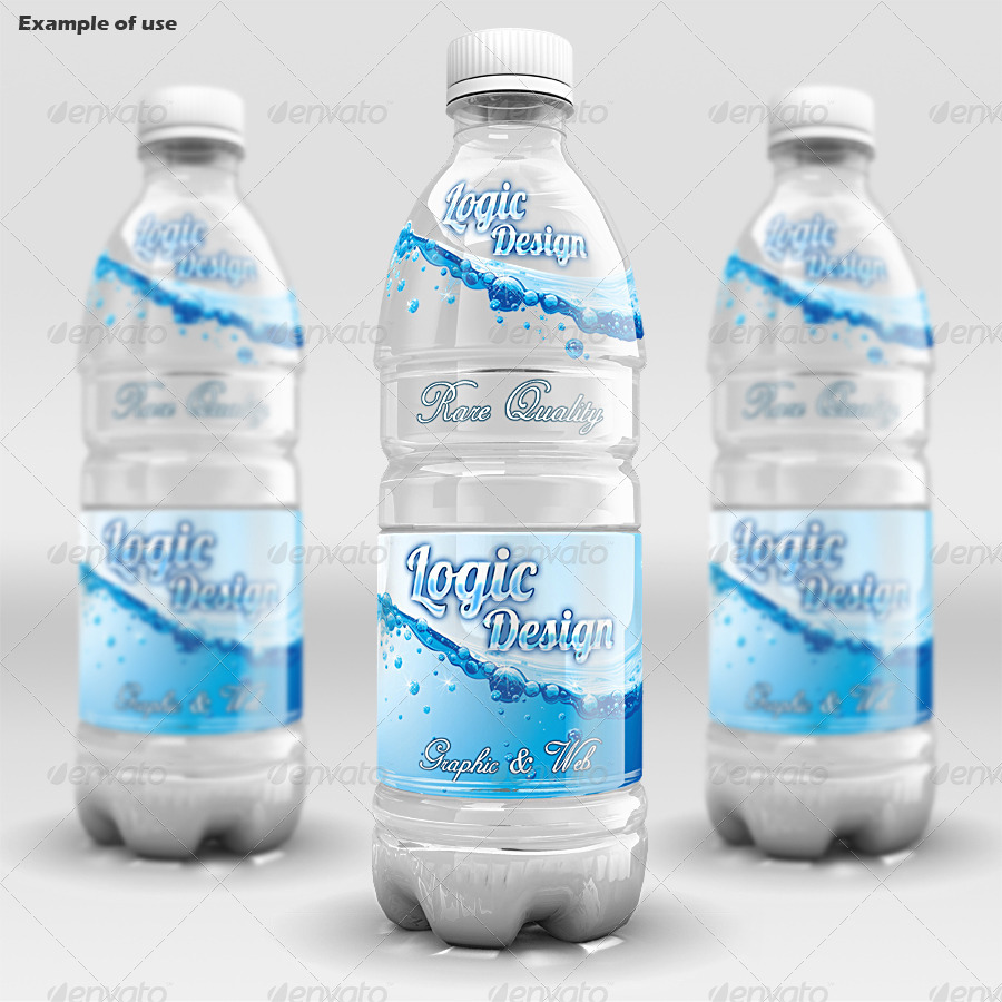 Beverage Bottle Mock Up