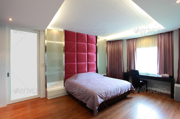 Modern Bedroom - Stock Photo - Images