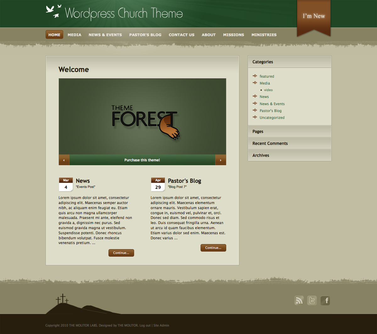 Wordpress Church