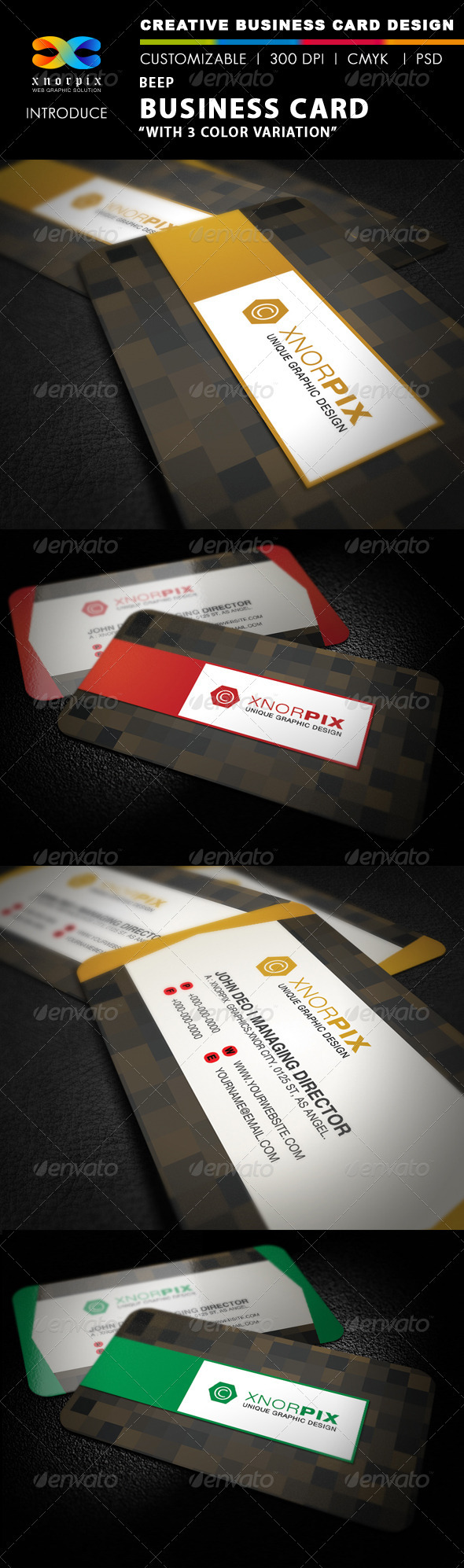 Beep Business Card - Corporate Business Cards