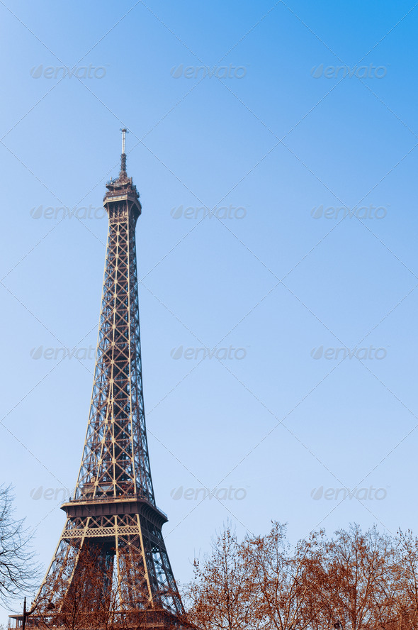 The Eiffel Tower - Stock Photo - Images