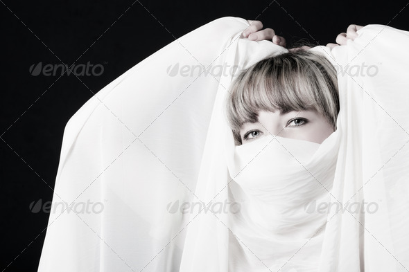 The woman close up - Stock Photo - Images