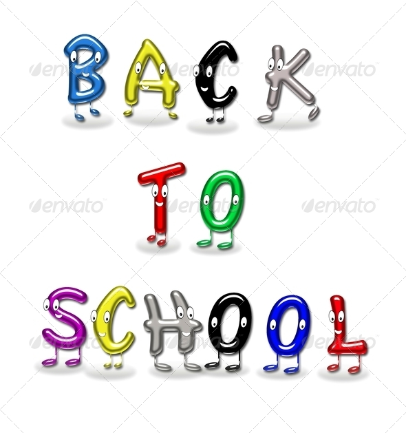 Back to school. - Stock Photo - Images