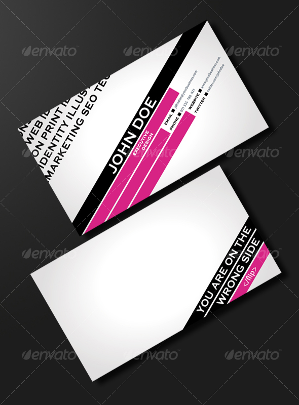 FASHION &amp; TRENDY BUSINESS CARD - Creative Business Cards