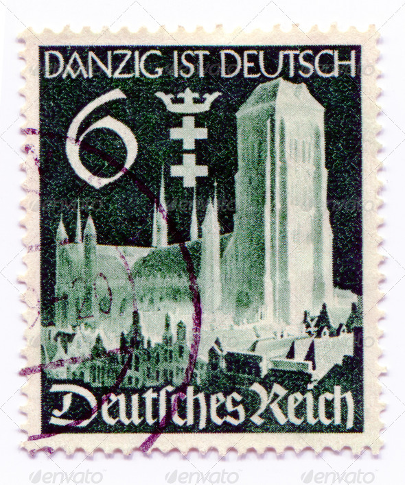 GERMANY - CIRCA 1938: A stamp printed in Germany   showing the c - Stock Photo - Images