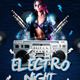 Electro or Hip Hop night - Flyer Template - GraphicRiver Item for Sale