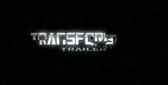 After Effects Project - VideoHive Transformer Trailer 100183