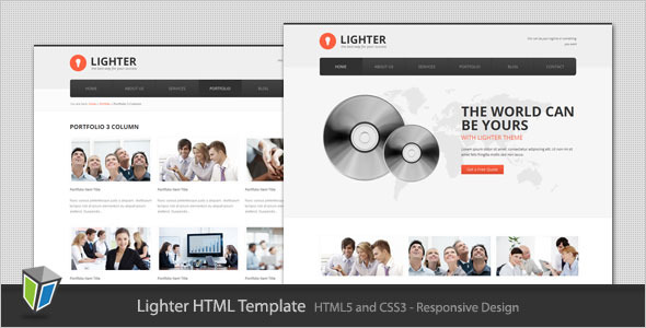 Lighter - Responsive Business HTML Template