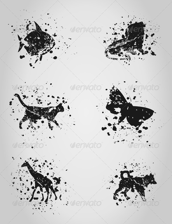 GraphicRiver Animal a blot 2808732