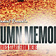 Autumn Memories Flyer / Poster - GraphicRiver Item for Sale