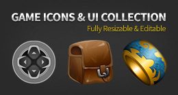 Game Icons & UI Collection