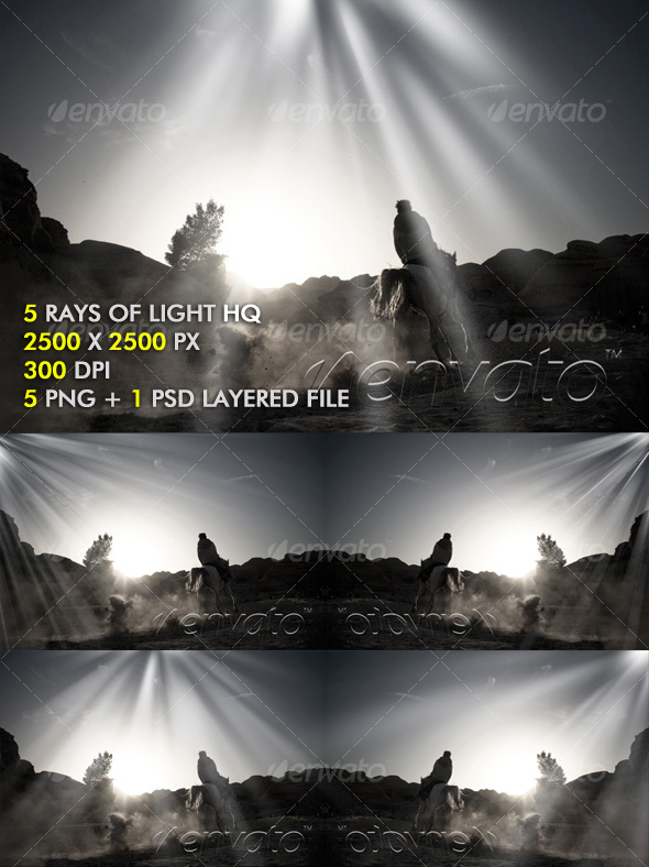 GraphicRiver Rays Of Light 101359