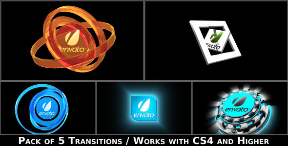 After Effects Project - VideoHive Broadcast Logo Transition Pack 2817604